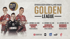 Billetsalget til Sparekassen Kronjylland/WAOO Golden League er åbent
